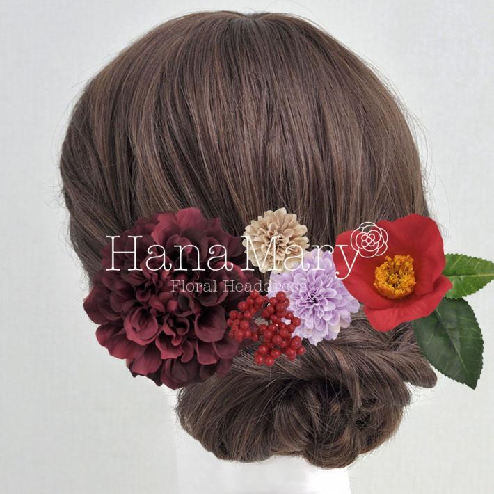 古典風髪飾り