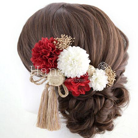 花 髪飾り