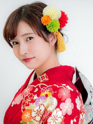 【人気No.1】ピンポンマムの髪飾り